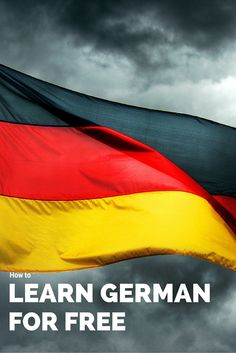 Let me teach you how to learn German for free!!