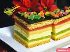 miodownik wg Ewy Capri - Swiatciast.pl Cake Recipes, Dessert Recipes, Layered Desserts, Polish Recipes, Pastry Cake, Food Cakes, Piece Of Cakes, Homemade Cakes, Capri