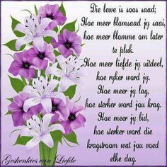 Die lewe is soos saad. Uplifting Christian Quotes, Small Business Management, Evening Greetings, Afrikaanse Quotes, Scrapbook Quotes, Goeie More, Inspirational Qoutes, Good Morning Quotes, Text Messages