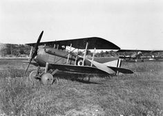 FRENCH AIRCRAFT FIRST WORLD WAR (Q 67931)   SPAD S.VII single seat fighter biplane of the Italian Air Force.