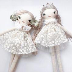 "433 Gostos, 15 Comentários - These Little Treasures Dolls (@these.little.treasures) no Instagram: "" These Little Treasures... . . . #smalllola #handmade #australianmade #dolls #princess #girl…"""