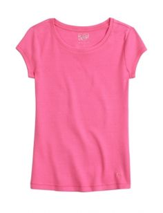 SUPER NEON PINK-Favorite Fitted Tee