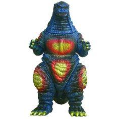 Giant Godzilla Vs Destoroyah Version Sofubi - Godzilla: Vinyl Wars / Collecting Classic Monsters