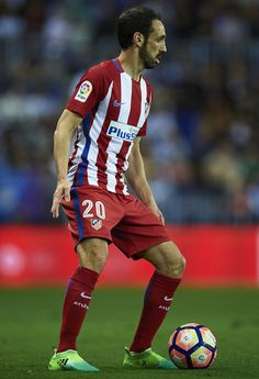 85bbc4b1e9f9e Juanfran Torres of Club Atletico de Madrid in action during La Liga match  between Malaga CF