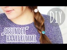 ▶ DIY schöner Haargummi für gesundes Haar - YouTube