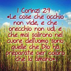 1 Corinzi 2: 9 #versettibiblici #versetti #benedizioni #Dio #Bibbia #Gesù #amore #fede #speranza #radio