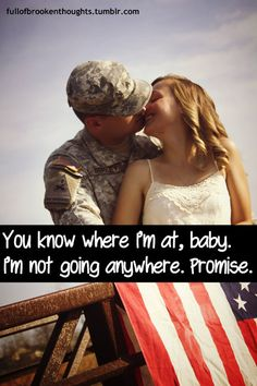 I'm not going anywhere Proud Army Girlfriend, Air Force Girlfriend, Usmc Love, Military Love, Army Quotes, Military Quotes, Air Force Love, Military Homecoming, Navy Life