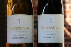 Waterstone Carneros Chardonnay and Pinot Noir - Check out this 2 for 1 review!