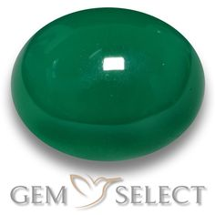 GemSelect features this natural Agate from India. This Green Agate weighs 9.3ct and measures 13.5 x 11.2mm in size. More Oval Cabochon Agate is available on gemselect.com #birthstones #healing #jewelrystone #loosegemstones #buygems #gemstonelover #naturalgemstone #coloredgemstones #gemstones #gem #gems #gemselect #sale #shopping #gemshopping #naturalagate #agate #greenagate #ovalgem #ovalgems #greengem #green