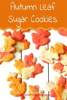 Celebrate fall with this colorful Autumn Leaf Sugar Cookies flavored with maple syrup. These homemade cutout cookies are so simple to make, just tint your dough and roll out with your favorite leaf cookie cutter. Make a batch of these maple cookies for Halloween, fall parties, Thanksgiving or for snacking.