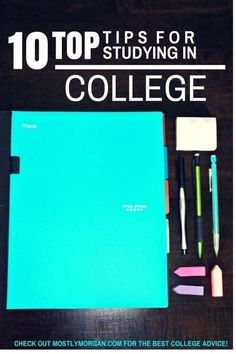 If you want to know the best ways to study in college check out the ten tips offered here. Read to the very end for the most important tip!!