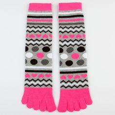 FULL TILT Womens Toe Socks 208463398 | Socks | Tillys.com