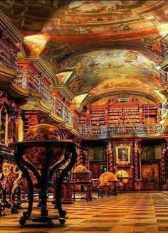 Strahov Library, Prague, Czech Republic