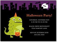 Cute Halloween Party Invitations: Staff Picks | Tiny Prints Blog