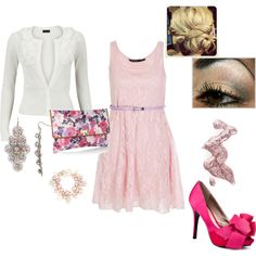 Easter Dress!, created by heather-leitschuh on Polyvore
