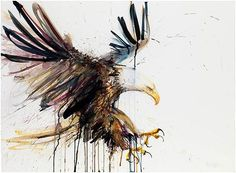 Eagle+(Giclee+and+Silkscreen+Signed+Limited+Edition+of+50)