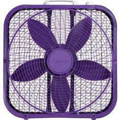 "Cool it! With a 20"" Purple Box Fan"