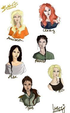 Girls From Books / Hunger Games / FANDOMS UNITE! Annabeth- Percy Jackson Clary- Mortal Instruments Katniss- Hunger Hames  Tris- Divergent June- Legend