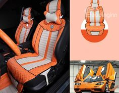 New Arrival Gorgeous Leapord Style Fashion Plush High Quality Seat Covers