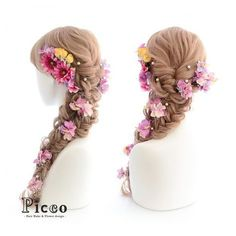 Rapunzel hair decorations