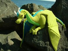 Guardian the Dragon PDF Crochet Pattern from CreationsByGems | Check out patterns on Craftsy!