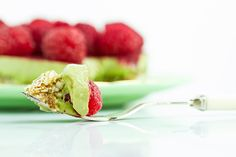 Green Tea Tart for Two. With the anti-inflammatory, cancer-protecting, slimming and calming Matcha powder.
