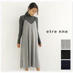 【etre nne エトレンヌ】<br>キャミ ワンピース(1052793)