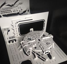 Star Wars kirigami