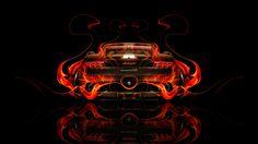 Genial Lamborghini Gallardo Back Fire Abstract Car 2014 HD