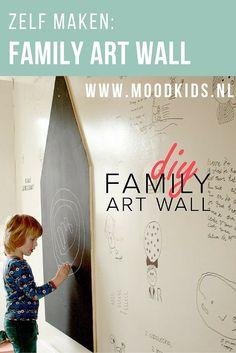 Maken jouw kinderen de mooiste tekeningen? Vind je het zonde om deze kinderkunst in een map te doen? Wat dacht je van een family art wall? Op www.moodkids.nl vind je de werkbeschrijving