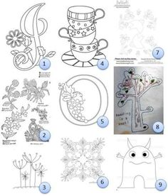 Free Hand embroidery Patterns