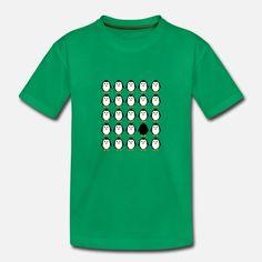 pingvin kolonie Premium T-skjorte barn Barn, Mens Tops, T Shirt, Design, Fashion, Supreme T Shirt, Moda, Converted Barn, Tee Shirt