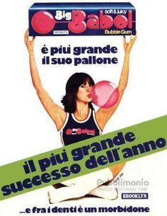 ...Mangiavamo due o tre zuccherosissime Big Babol insieme per fare palloncini come quello della pubblicità!...