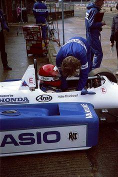 Mike Thackwell - Ralt RH6-84 Honda/Mugen - Ralt Cars Ltd - XXXVI International Tropy 1984