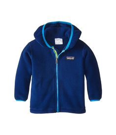Patagonia Kids Synchilla® Cardigan (Infant/Toddler) Channel Blue - Zappos.com Free Shipping BOTH Ways