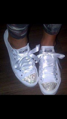 14352a1d1427a3 Chuck Taylor s Converse Wedding Shoes