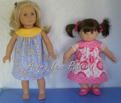 Amanda Lane Clothing Designer AG Doll clothes pattern Amanda