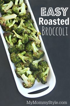 Easy roasted broccol
