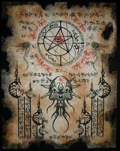 LOVECRAFT / Necronomicon / Gods