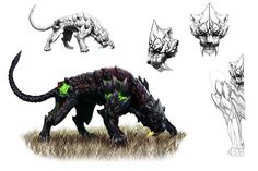 Creature concept from Aion