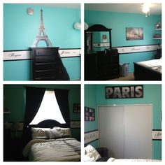 I really like the bottom left picture. With the bed headboard by the window.