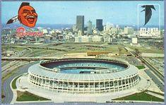 Atlanta/Fulton County Stadium, home of the Braves. Atlanta Braves Stadium, Super Bowl Weekend, Turner Field, Professional Football Teams, Georgia Girls, Fulton County, Braves Baseball, Home Of The Brave, Vacation