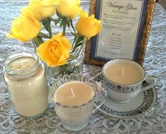 Candles are a common component of both weddings and wedding favors. But paraffin wax, the main ingredient in most candles, is actually a petroleum product and can cause poor indoor air quality when burned regularly, some studies show.    So, if you're gifting guests with candles at your wedding celebration, opt for natural soy or beeswax alternatives for a clean-burning solution.