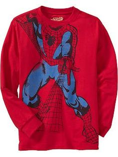 Boys Marvel Comics™ Spiderman Tees | Old Navy
