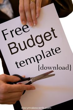 Ready to implement a budget but just don't know where to start? Try this downloadable budget template!