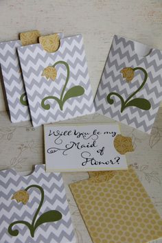 Will you be my...... (Wedding Party) on Etsy, $7.00
