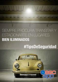 #TipsDeSeguridad  Siempre procura transitar y estacionarte en lugares bien iluminados.  Protege de ti y los tuyos.  ¡Conócenos! Website: http://bit.ly/secappweb Facebook: http://on.fb.me/1nk9S2k Twitter: http://bit.ly/1l8fo6I Link de descarga: http://bit.ly/1fbMHAB
