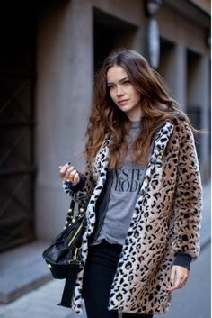 leopard print #coat | It List