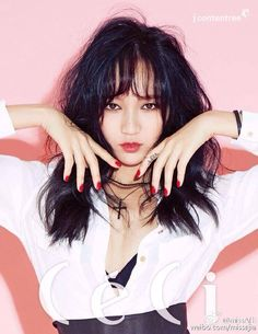 miss A's Jia is smoldering hot for 'CeCi' pictorial   http://www.allkpop.com/article/2015/08/miss-as-jia-is-smoldering-hot-for-ceci-pictorial