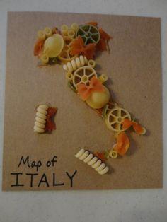 Italië met pasta